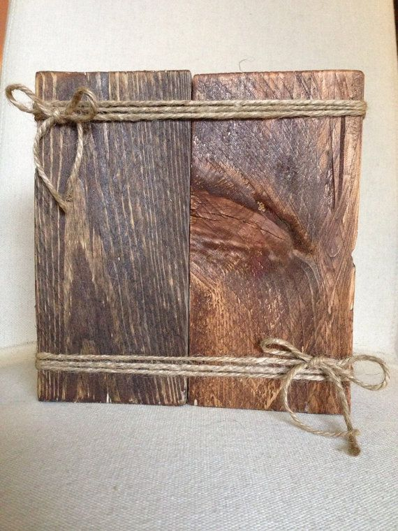 Looking for a rustic, unique way to display one of your favorite pictures? Then this reclaimed wood picture frame is for you! This piece is truly one of a kind. This picture frame is made from reclaimed wood, stained, and then given a distressed finish. -This listing is for one