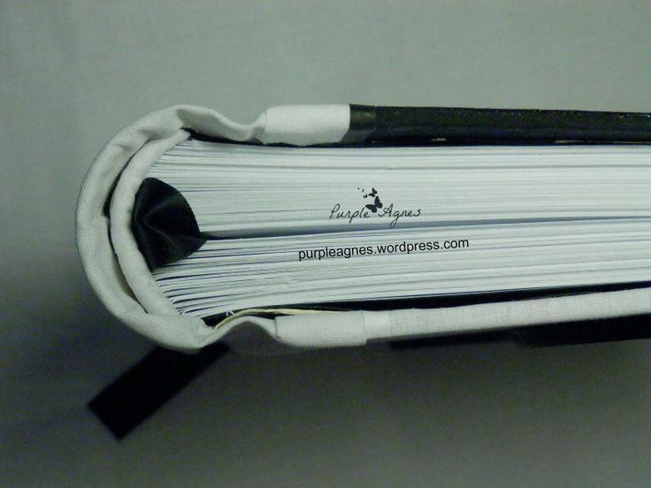 Yin - Yang Handmade Journal, Hard Cover, picture 3