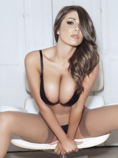 Lucy Pinder in Nuts magazine -