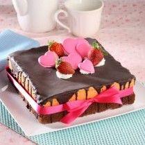 CHOCO PINK VALENTINE CAKE | Sajian Sedap http://bit.ly/Jw1jvS