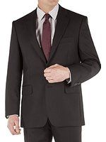 Suit Direct The Label Black Twill Regular Fit Jacket - LL2457J2 Regular Fit Mixer Jacket