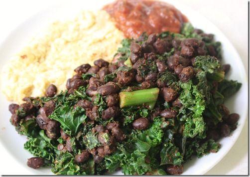Black Bean and Kale Tacos   kale   Pinterest