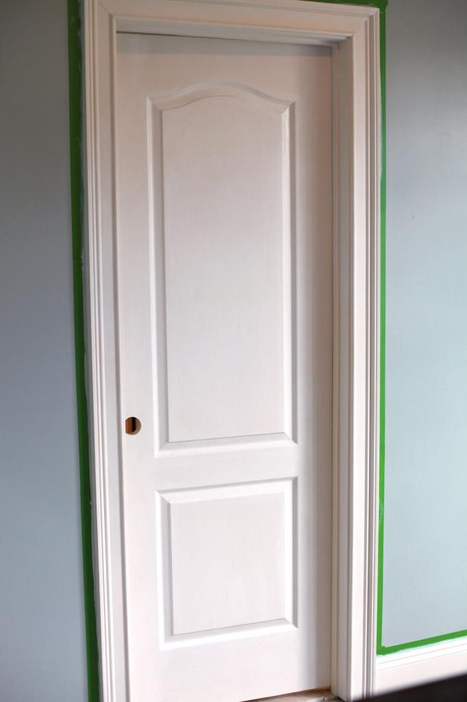 Painting trim and the way we paint interior doors for Cost to paint interior doors and trim