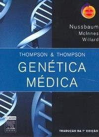 Livros para Farmácia: Genética Médica - Thompson & Thompson - 6ª edição