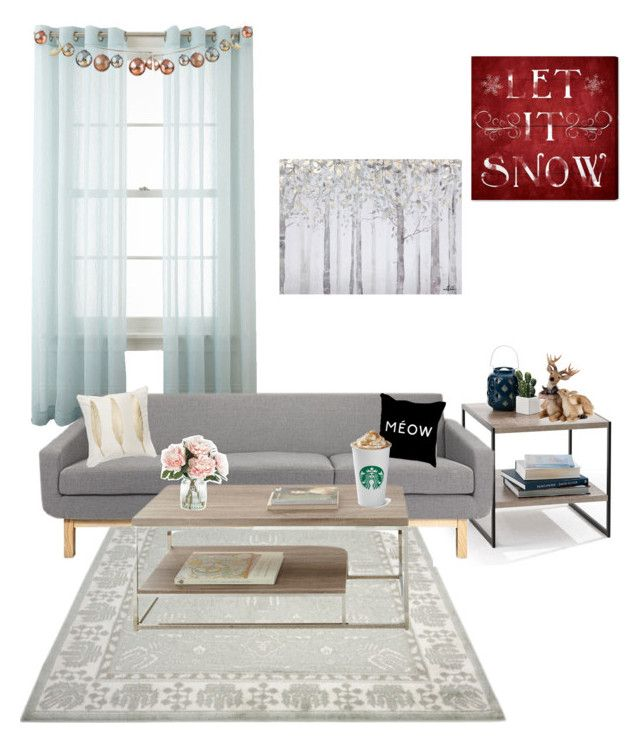 """""""Untitled #159"""" by emmatob on Polyvore featuring interior, interiors, interior design, home, home decor, interior decorating, Royal Velvet, Oliver Gal Artist Co., Yosemite Home Décor and Home Decorators Collection"""