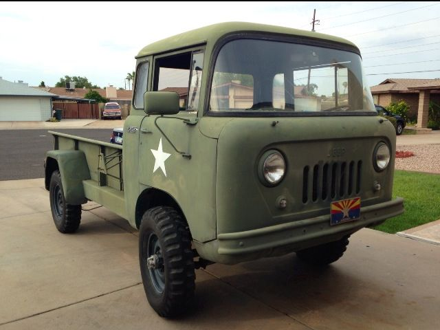 1957 Jeep Willys Cab Over Truck Automobilia Pinterest