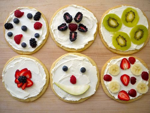 Sugar Cookie Pizzas | Recipe | Sugar Cookie Pizza, Cookie Pizza and ...