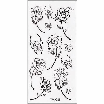 Simple Rose Tattoo Outline , rose tatoo