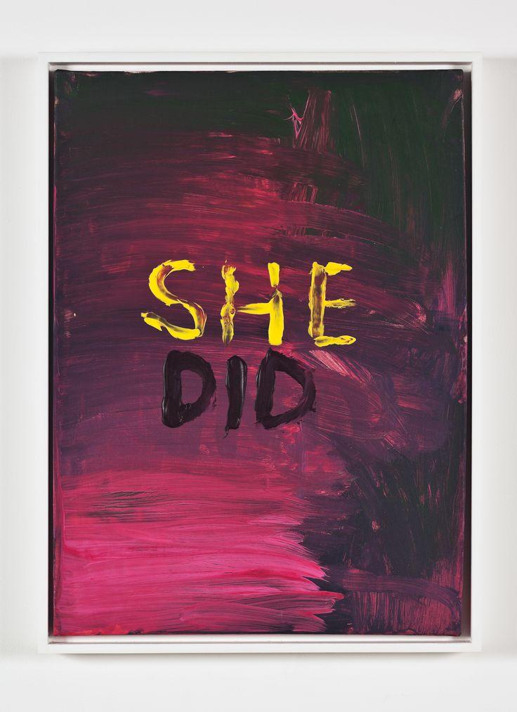 SHE DID [Sue Tompkins]
