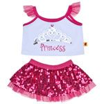 21277m - Build-A-Bear Furever Princess Friends And Accessories!