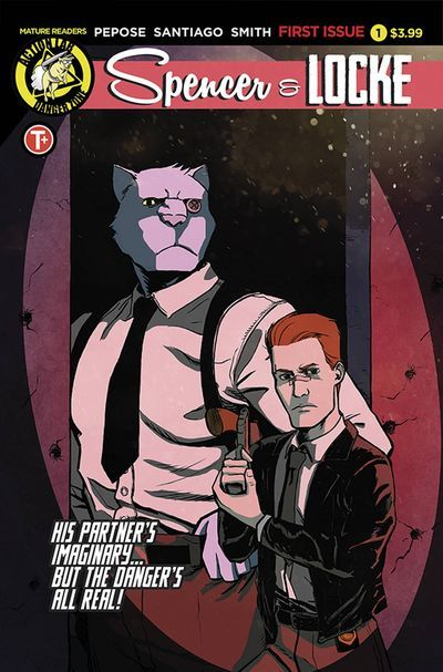 Detective Duo Spencer & Locke Mix it Up  What happens when writer David Peposeriffs off abeloved comic featuring a boy and stuffed tiger anda gritty crime drama? Well you get Spencer & Locke a unique quirky comic thats sort of aCalvin & HobbesmeetsSin City.  Spencer & Locke #1 Peposes Spencer & Locke isa new limited four-book series from Action Lab  Danger Zone. In our interview Pepose discusses the genesis for his new comic the comics that influenced him and collaborating with the right…