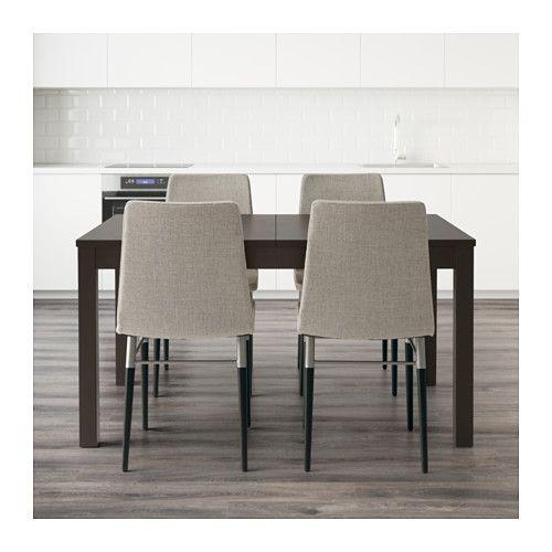 BJURSTA / PREBEN テーブル&チェア4脚  - IKEA