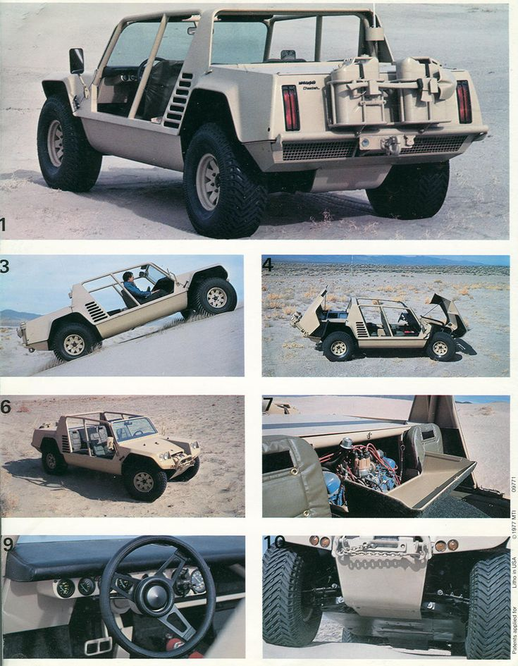 The Lamborghini Cheetah was an off-road prototype built in 1977 by the Italian carmaker Lamborghini.