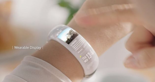Samsung si prepara ad annunciare il Galaxy Gear Fit al MWC 2014 - http://mobilemakers.org/samsung-si-prepara-ad-annunciare-il-galaxy-gear-fit-al-mwc-2014/