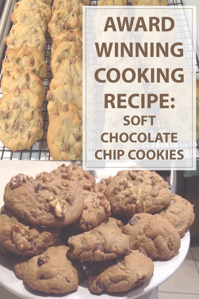 This award winning soft chocolate chip #cookies #cooking #recipe will make any cookie lover to lick his fingers.You will never need another cookie recipe.Enjoy. | www.housewiveshobbies.com |