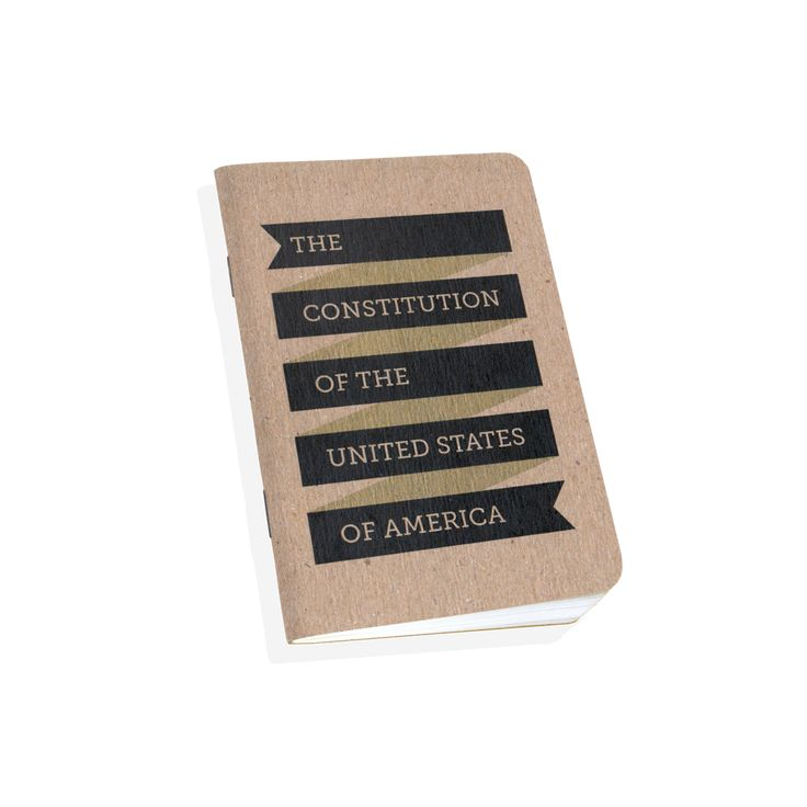 Pocket Constitution of the United States of America by Scout Books