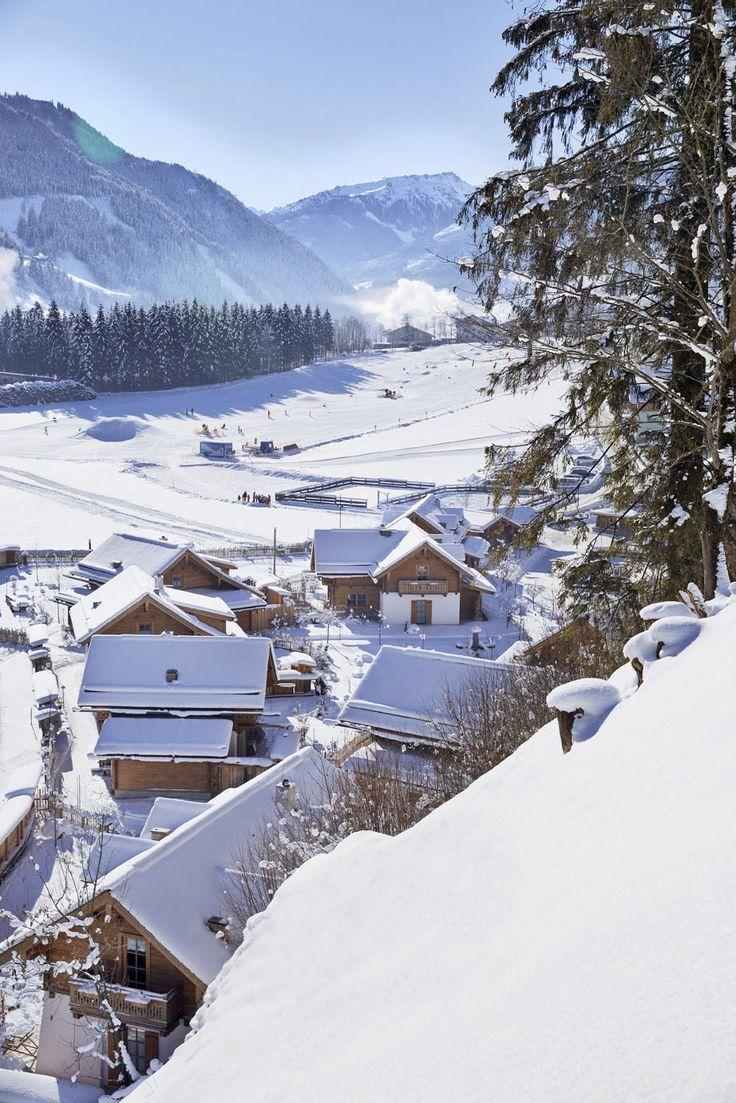 Das Feriendorf im Winter // The holiday village in winter