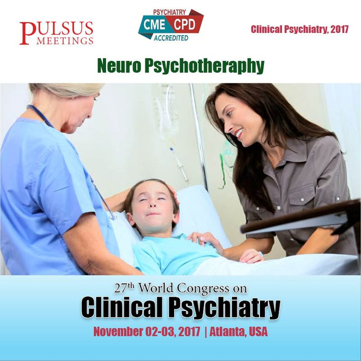 The eleventh track of the Clinical Psychiatry meeting is on #Neuro psychotherapy. Neuro psychotherapy (NPT) is a term that summarizes and integrates neuroscientific knowledge in a variety of Proficiency and treatments implementing neuro surgery.