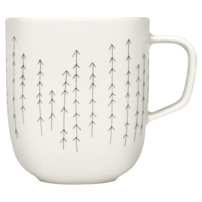 Iittala Sarjaton Metsa Mug #arrows #coffee #tea #mug
