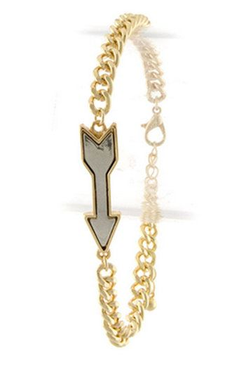 Arrow Bracelet in Gold | Heartbreak and Vine