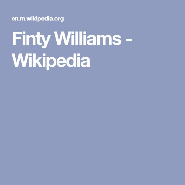 Finty Williams - Wikipedia