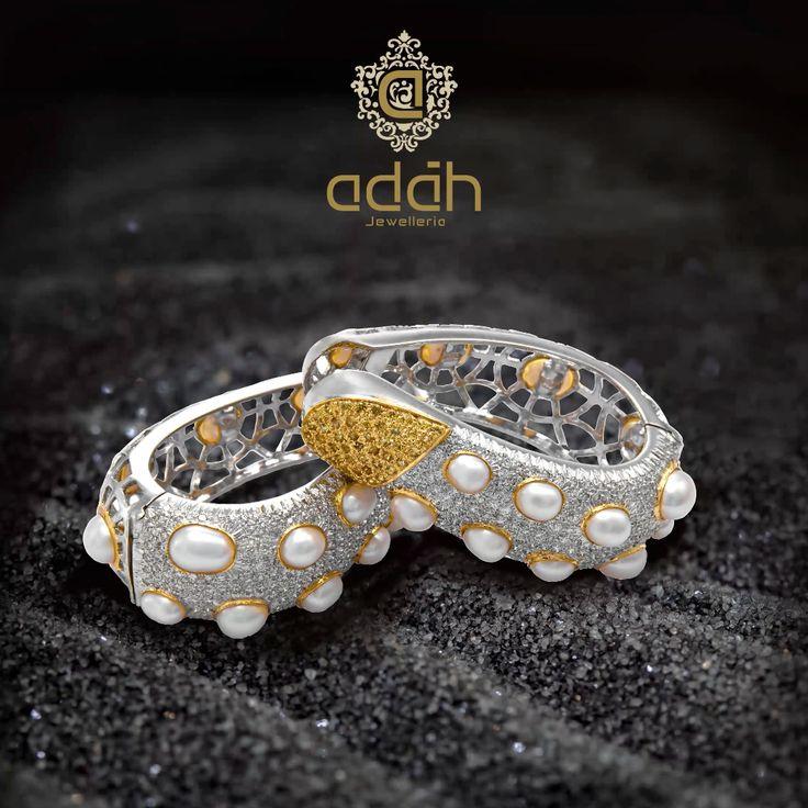 Adah Jewelleria - Best earrings which are a statement in itself!  #AdahJewelleria #jewellery #indianjewelry #traditionaljewellery #contemporaryjewelry #fashionjewelry #Adah #Jewelleria #jewellery #AdahJewelleria #HighJewelry #royalty #pearls #diamonds #WhatsYourAdah #DiscoverYourAdah #earrings