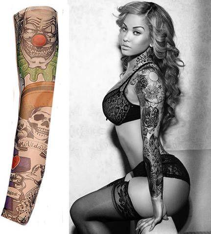 Tattoo Sleeve Nylon Elastic Temporary Sleeves