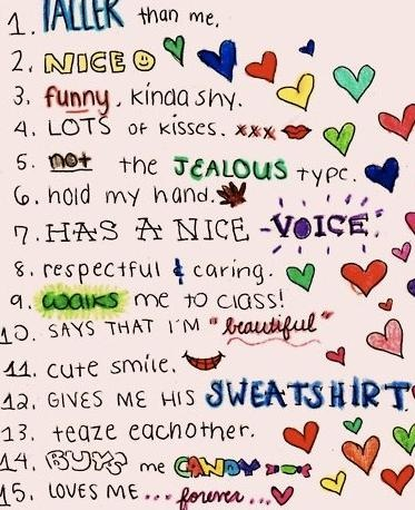 Make out tips cosmo, the perfect boyfriend list, cute i love ...