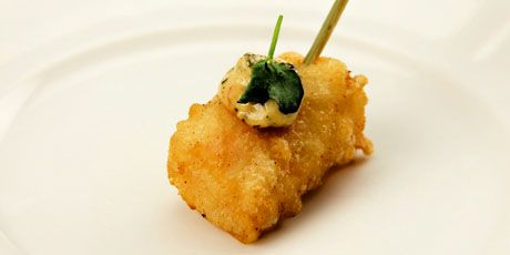 Scallop and Crab Mousse Tempura with Prawn and Pickled Ginger Aioli