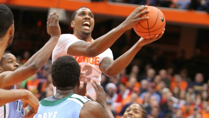 I love Syracuse basketball...Go ORANGE!
