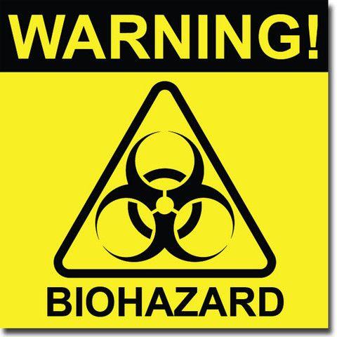 biohazard sign - photo #24
