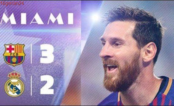 Barcelona vs Real Madrid 3-2 | Highlights & All Goals | International Champions Cup 2017