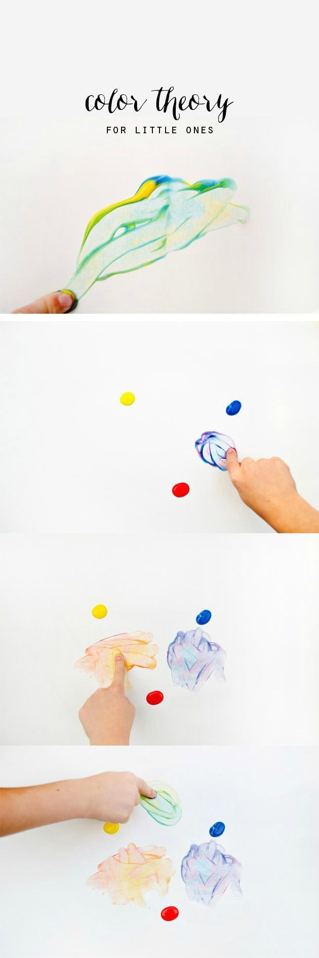 DIY: Some fun tips for exploring color with children! #kidscraft #preschool #efl