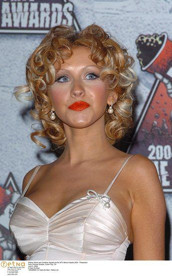 Name: Christina Aguilera, Nationality: United States, Profession: Musician, Ethnicity: Latina, Birthplace: Staten Island, D.O.B: December 18, 1980, Height: 5 feet and 1 inch, Weight: 68 kgs, Measurements: 34D-28-36, Enhanced Hooters: Yes