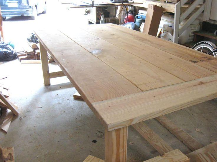 Farmhouse Table 10