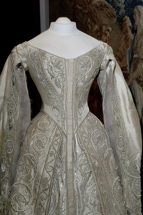 Russian Court dress. Coronation dress of the last Russian ... Alexandra Romanov Wedding Dress