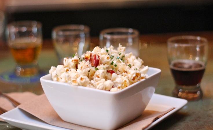 Bacon Parmesan Chive Popcorn | POPCORN, NUTS and SNACKS | Pinterest ...