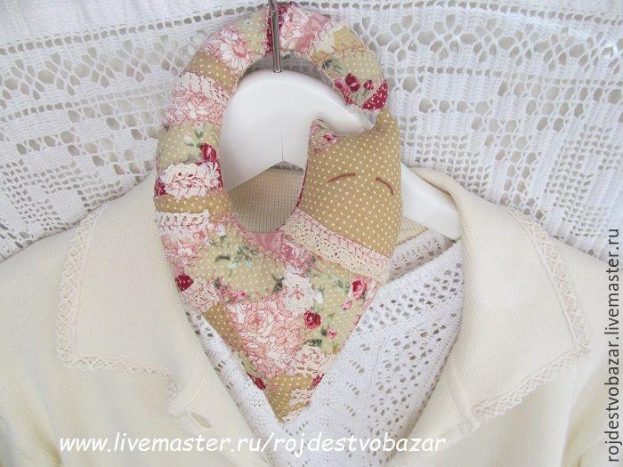 Купить Ароматизатор Кото-сердечко - котик, сердечки, годовщина свадьбы, кремовый, прованс, романтичный