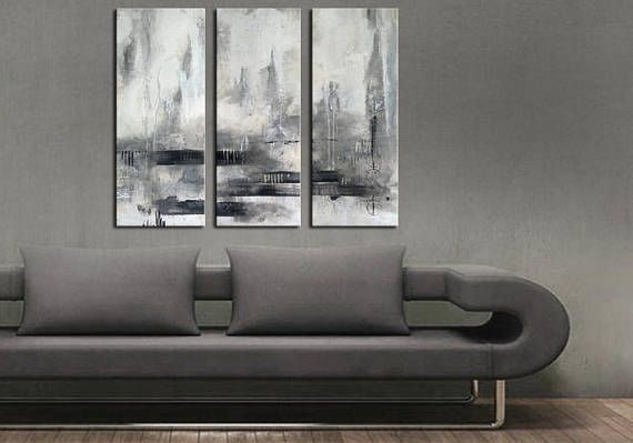 ABSTRACT PAINTING  Original Canvas Art Contemporary Abstract