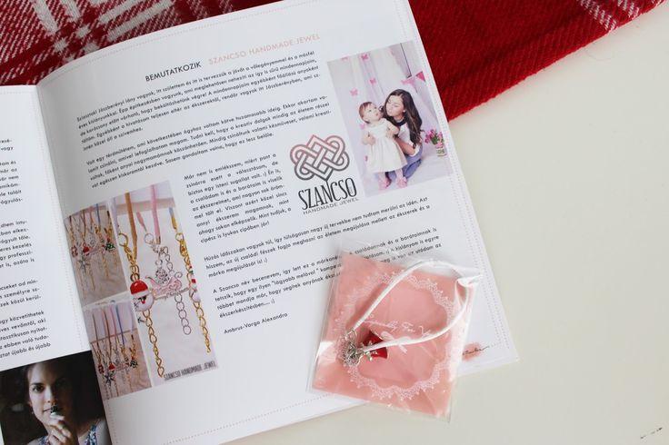 My Handmade Jewels! Christmas bracelet! Szancso Handmade Jewel