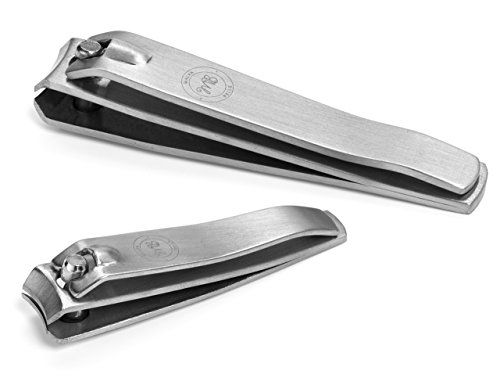 Precision Nail Clipper Set By Malva Belle - Toenail and Fingernail Clippers