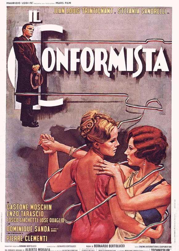 The Conformist (Italian) 11x17 Movie Poster (1971)