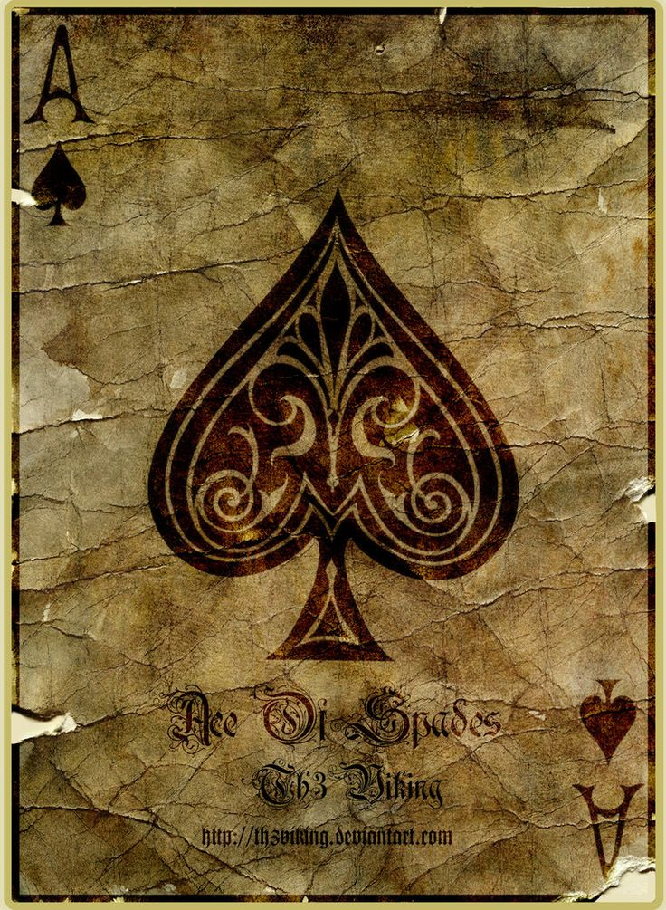 Ace of spades on the white ladies ass 7