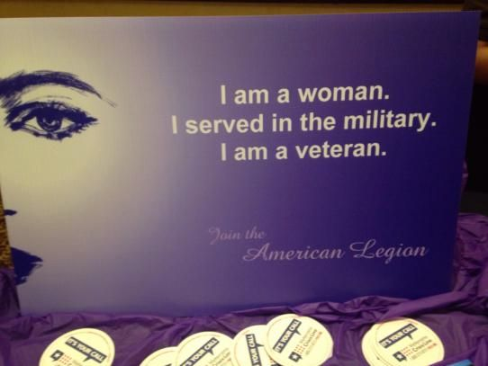 I am a #woman. I served in the #military. I am a #veteran