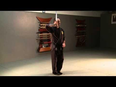 """Katana no Kata """"Shohatto"""" Samurai Sword Form for Bujinkan Ninjutsu Ninja Training - YouTube"""