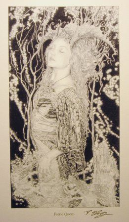 FAERIE QUEEN print by Ed Org