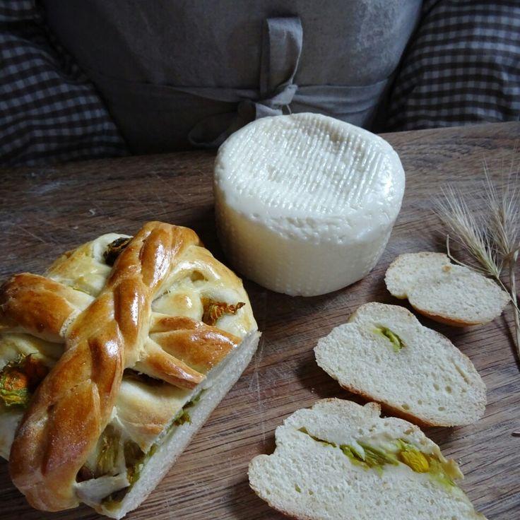 Pane ai fiori di zucca