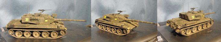 Rhino - Type-74 + Leopard 1A4/Claymore.