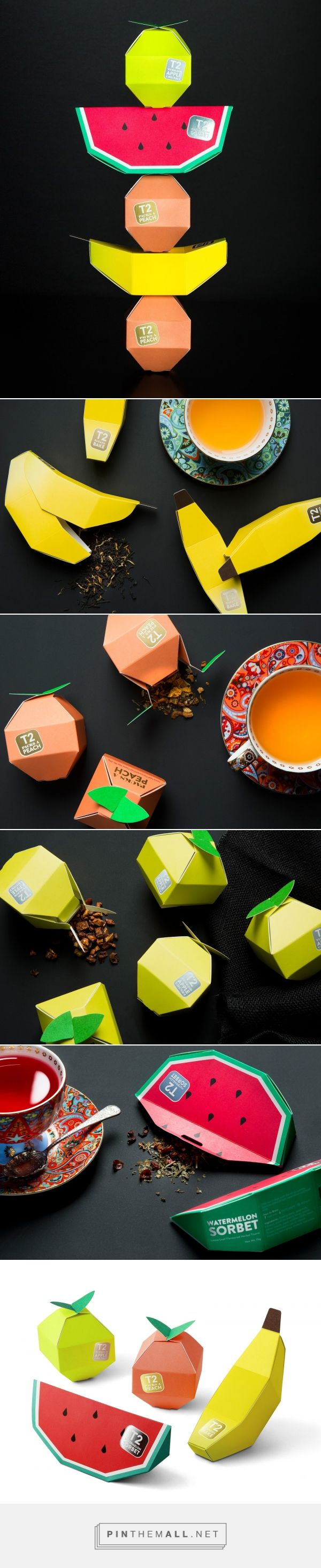 T2 Tea Mini Fruits packaging design - http://www.packagingoftheworld.com/2016/11/t2-tea-mini-fruits.html