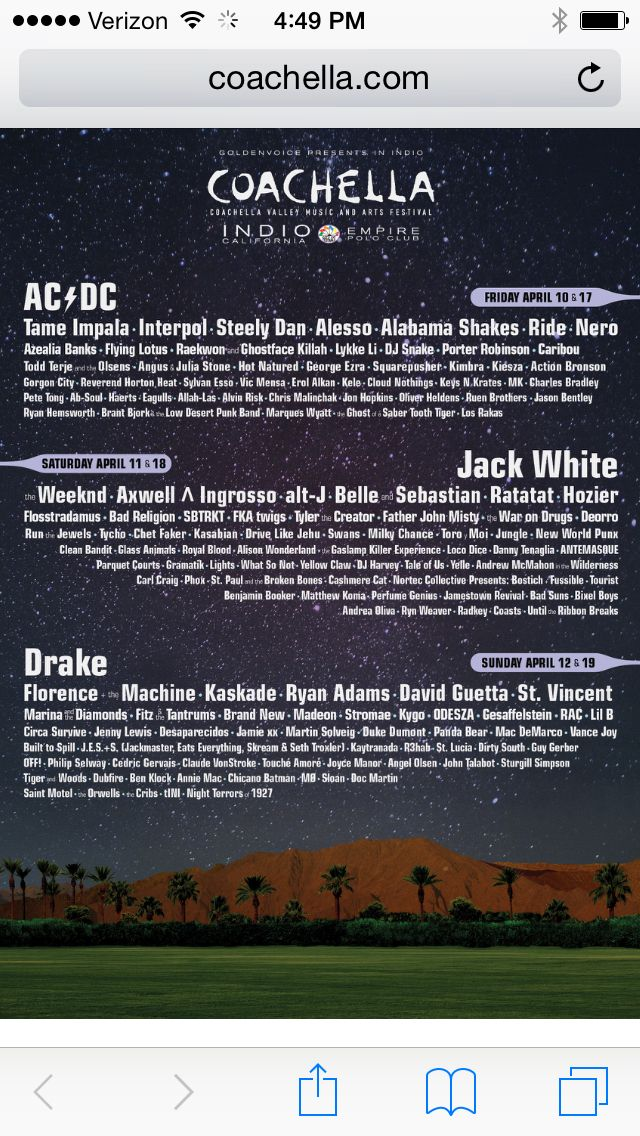 coachella 2015 lineup highlights - photo #1